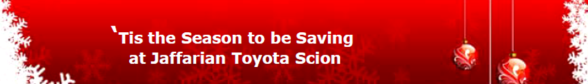 Service Specials at Jaffarian Toyota Scion