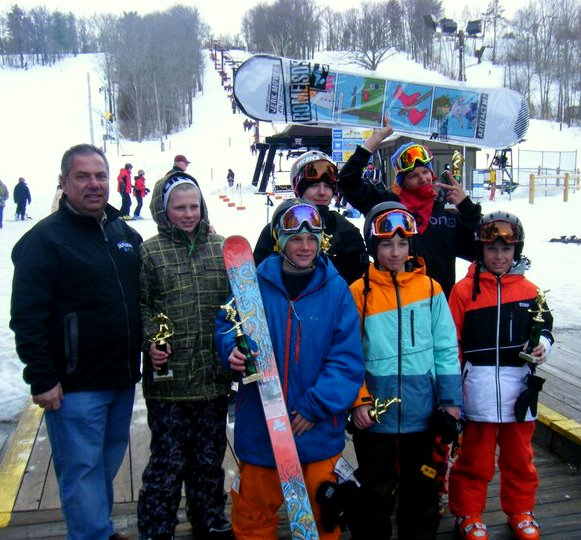 Freestyle Jam at Ski Bradford Winners