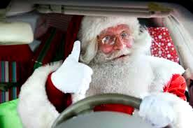 Santa Safe Driving