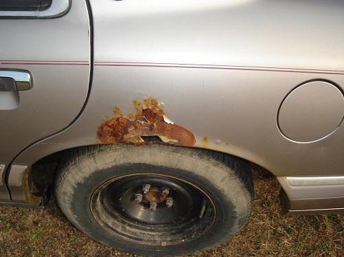 rust free car