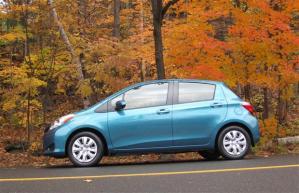 Toyota in fall