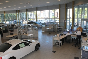 Current showroom