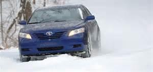 ToyotaCamryin Snow
