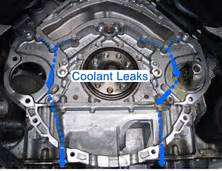 coolant leaks