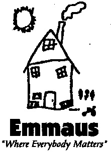 Emmaus house and tag