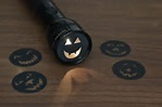 Halloween flashlight