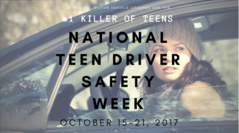 Teen Driver Safety poster
